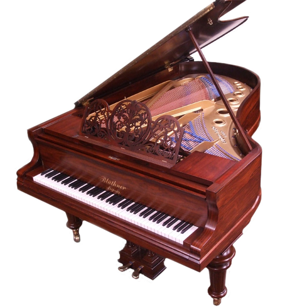 Bluthner Model 4 grand piano - fully restored