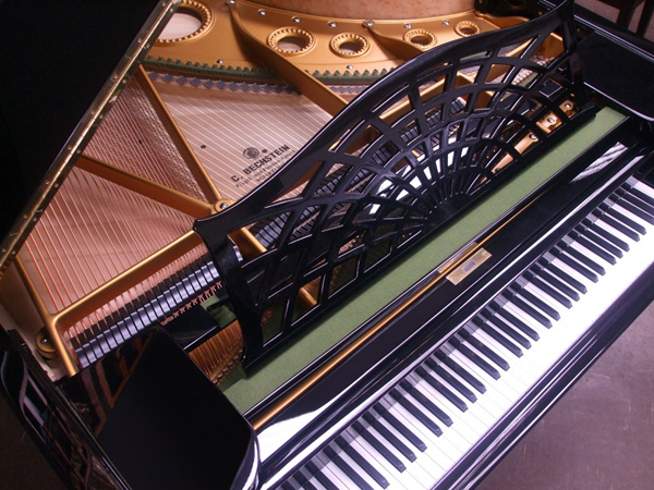 Restored Bechstein Grand - close-up