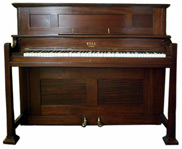 Bell arts and crafts piano