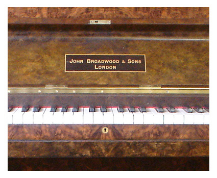 Broadwood upright piano - image 3