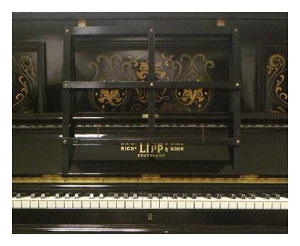 Lipp upright piano - image 3