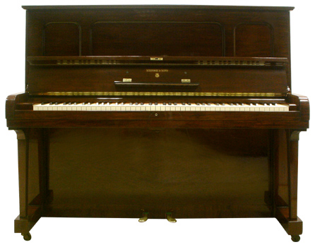 Steinway and Sons upright piano - image 1
