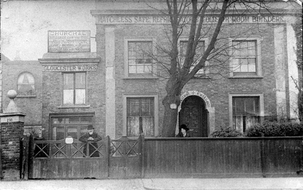St Ann's Road - The J Reid Pianos Building - very old image