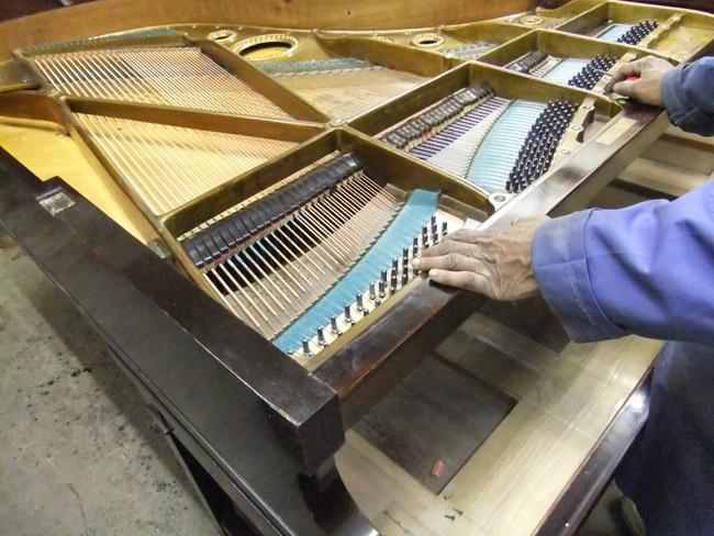 Grand Piano Restoration