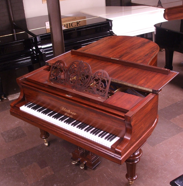Bluthner Model 4 grand piano 2 - fully restored