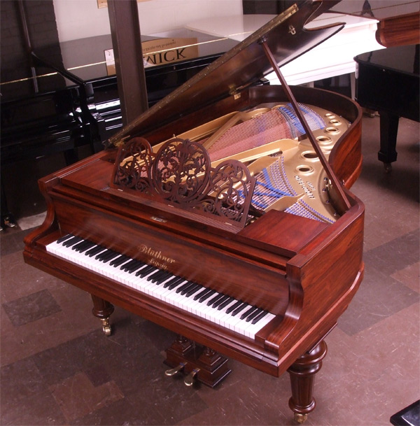 Bluthner Model 4 grand piano 3 - fully restored