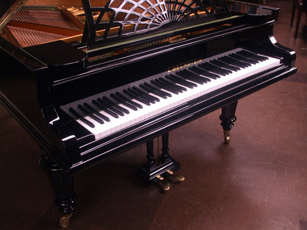 Bechstein grand piano detail 1 - fully restored