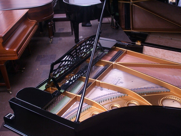 Bechstein grand piano detail 2 - fully restored