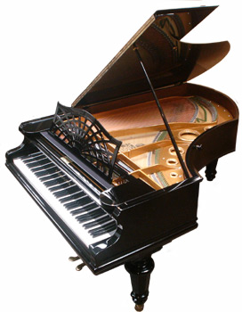 Bechstein grand ebony image 2