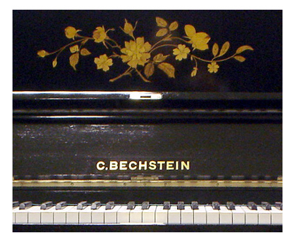 Bechstein model V upright piano - image 3
