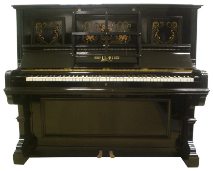 Lipp upright piano - image 2