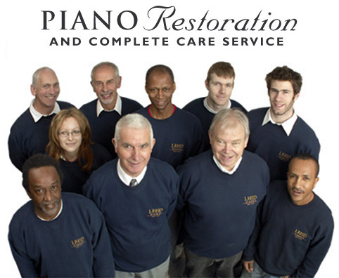 J Reid Pianos - piano restoration team