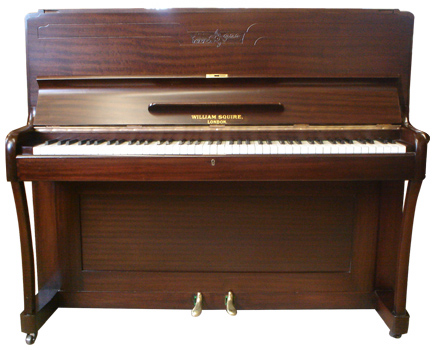 William Squire upright piano - image 1