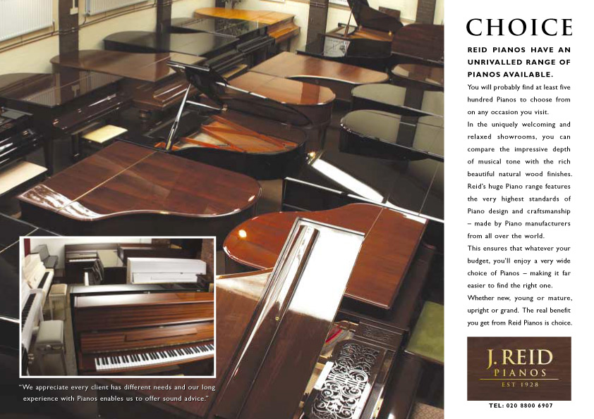 J Reid Pianos - Choice