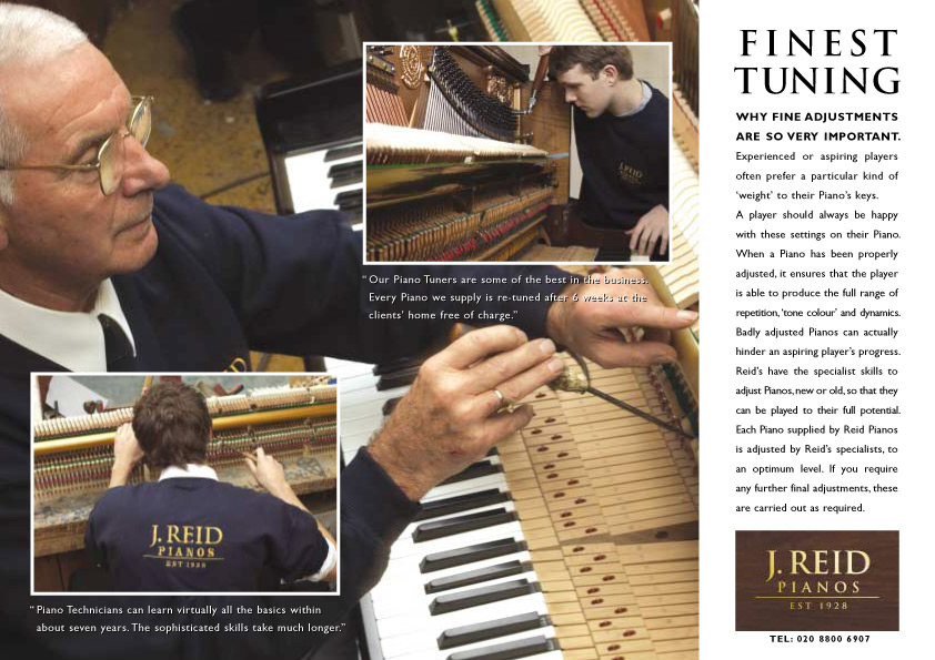 J Reid Pianos - Finest Tuning