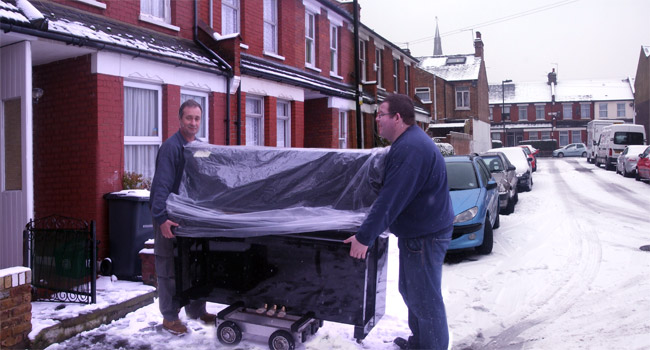 J Reids Deliver in all Weathers