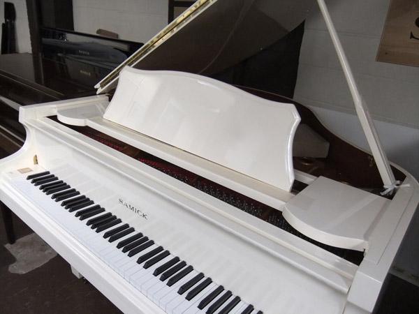 Samick Grand Piano in Ivory