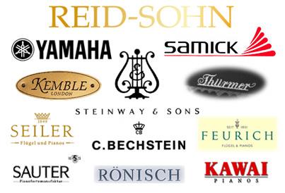 J Reid Pianos - Piano Brands