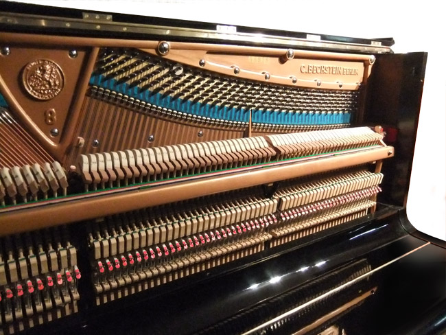 Bechstein Upright Concert Model 8 - action